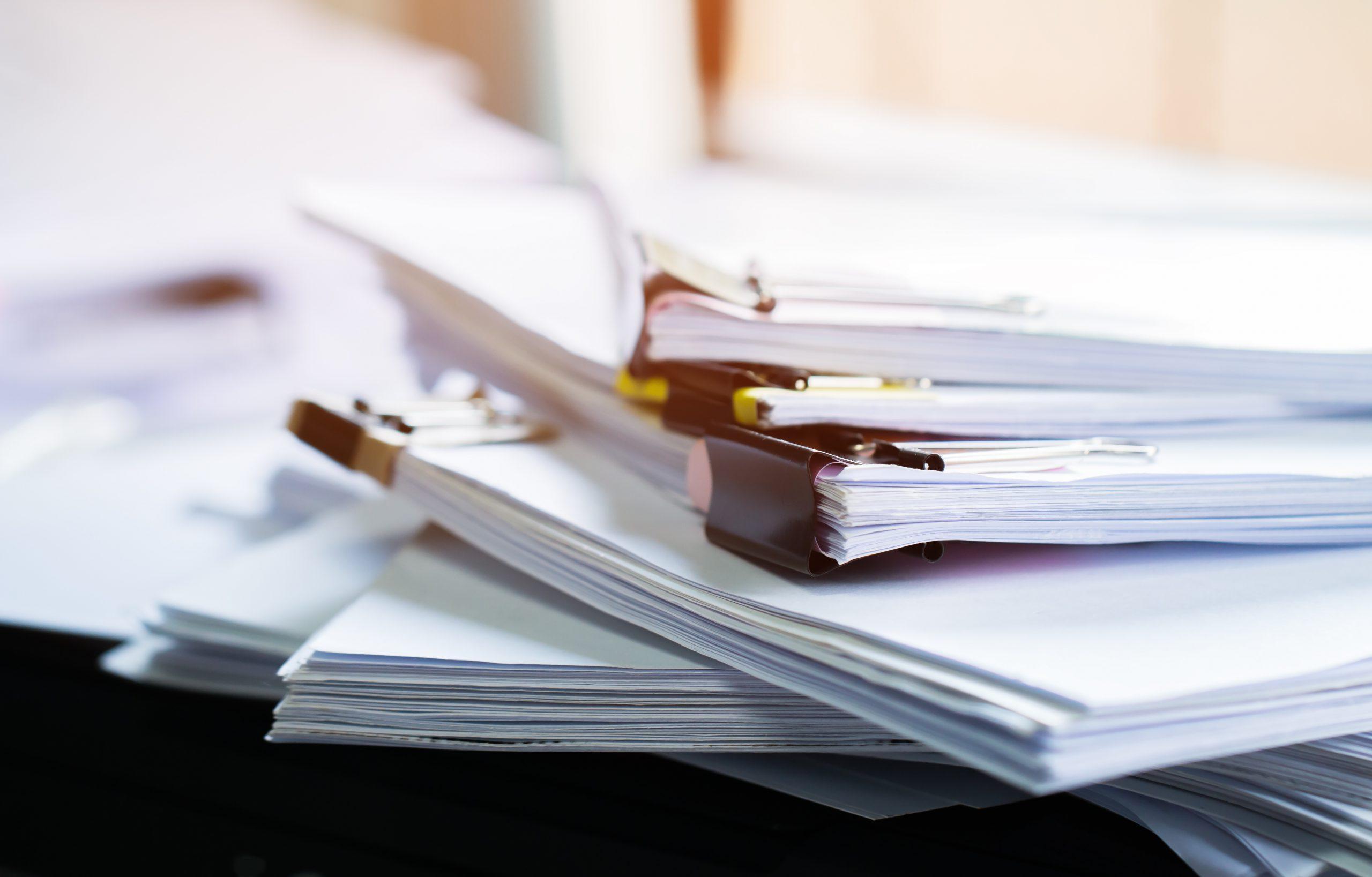 紙業務の多い業界必見!紙業務のリスクとブラックボックス化の問題について