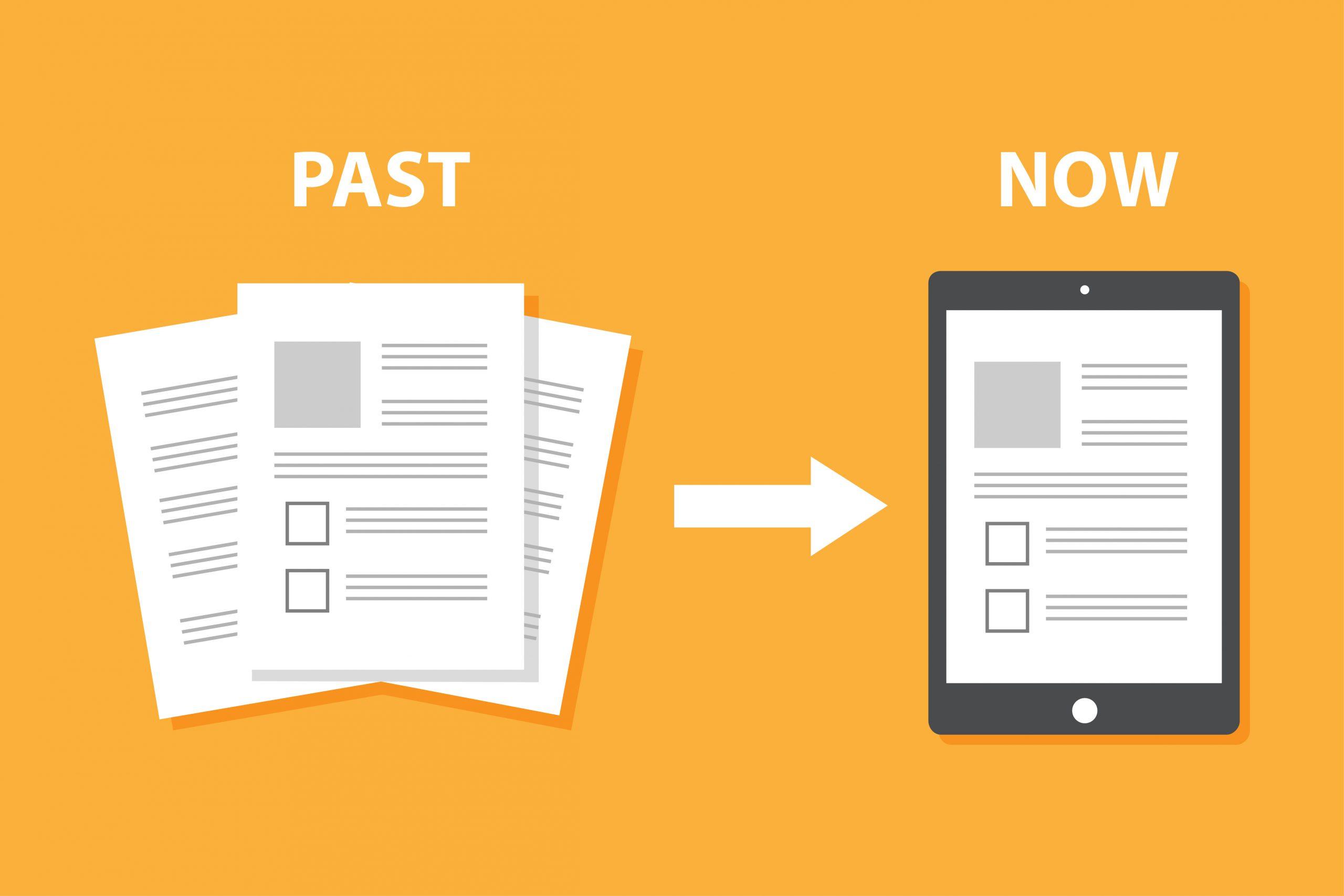 紙業務のペーパーレス化の方法についてご紹介